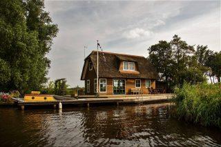 Vakantiewoning Friesland: Simmerhonk Alde Feanen