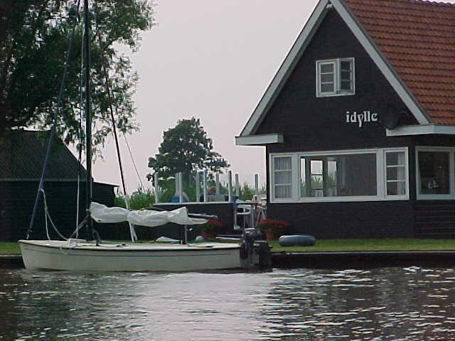 Vakantiehuis Idylle met boot